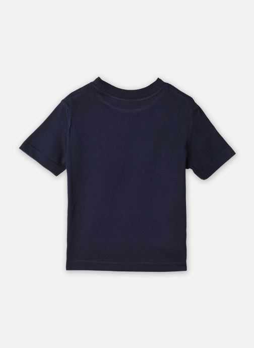 Vêtements Cyrillus T-shirt Gary Bleu vue portées chaussures
