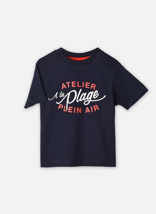 Vêtements Cyrillus T-shirt Gary Bleu vue détail/paire