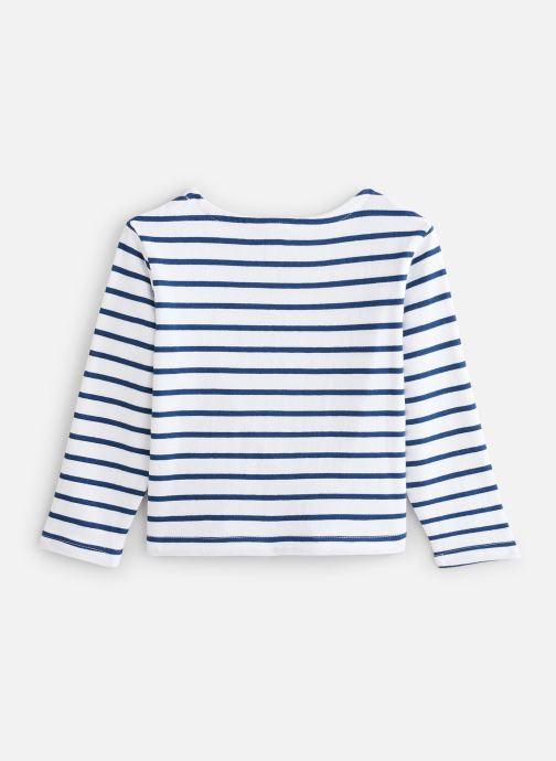 Vêtements Cyrillus T-shirt Goulven Bleu vue bas / vue portée sac