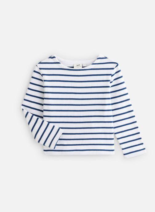 Vêtements Cyrillus T-shirt Goulven Bleu vue détail/paire