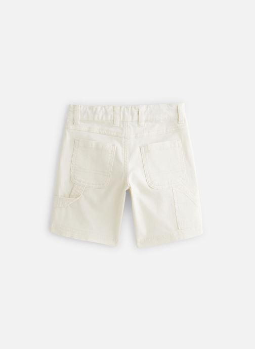 Vêtements Cyrillus Bermuda George Blanc vue bas / vue portée sac