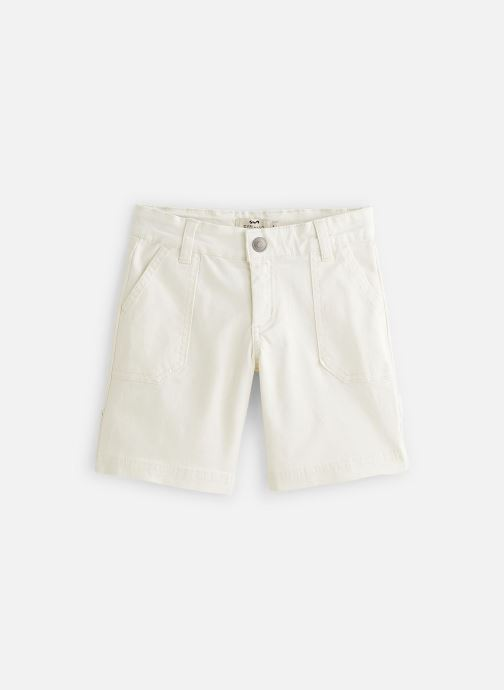Vêtements Cyrillus Bermuda George Blanc vue détail/paire
