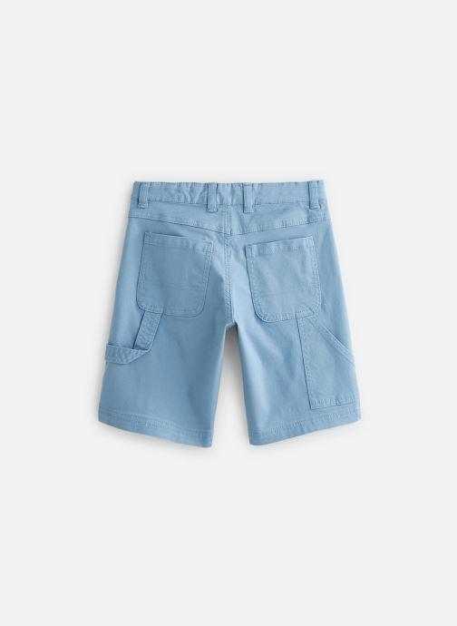 Vêtements Cyrillus Bermuda George Bleu vue bas / vue portée sac
