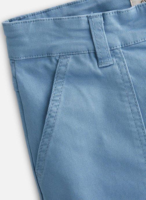 Vêtements Cyrillus Bermuda George Bleu vue portées chaussures