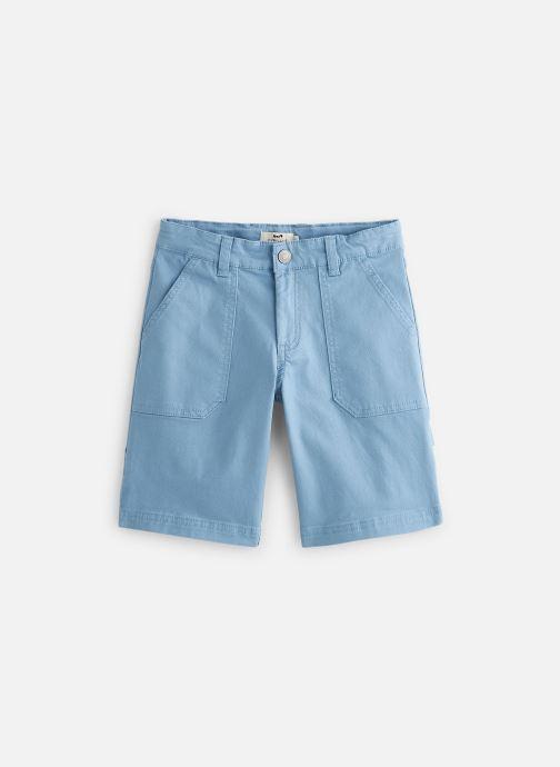 Vêtements Cyrillus Bermuda George Bleu vue détail/paire
