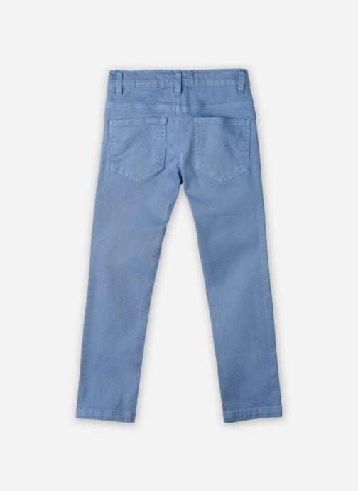 Vêtements Cyrillus Pantalon droit Gusgus Bleu vue portées chaussures