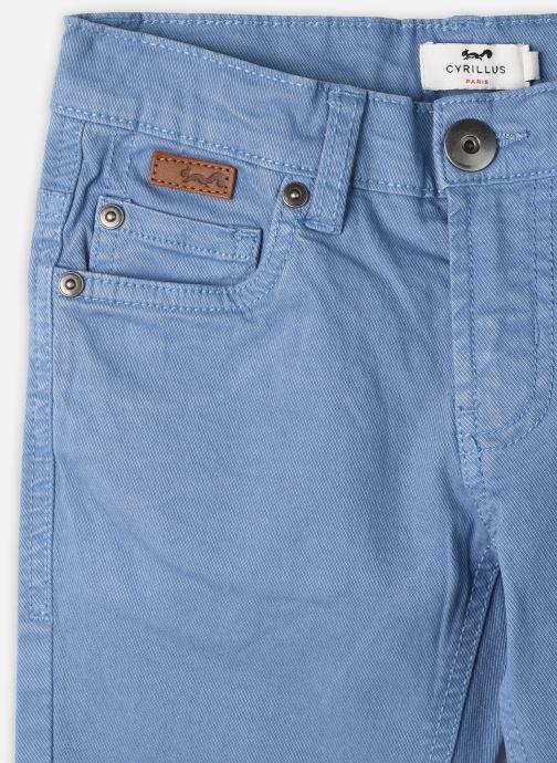 Vêtements Cyrillus Pantalon droit Gusgus Bleu vue face
