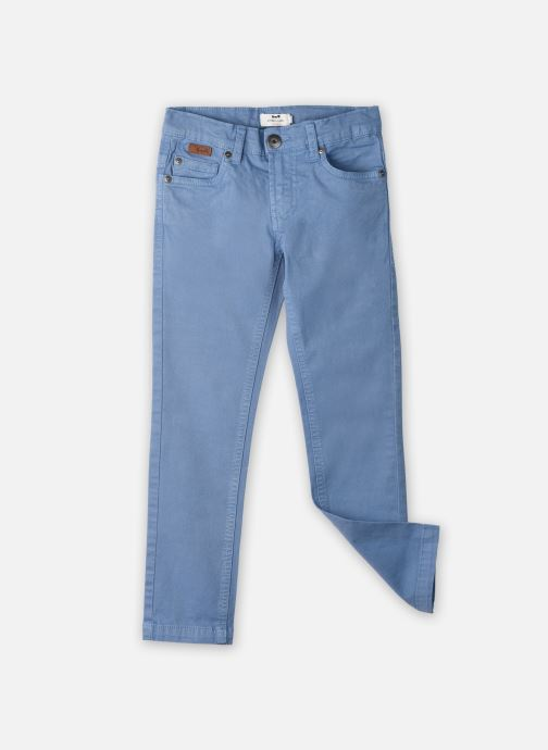 Vêtements Cyrillus Pantalon droit Gusgus Bleu vue détail/paire