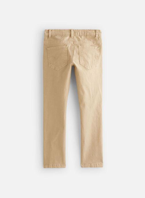 Vêtements Cyrillus Pantalon droit Gusgus Beige vue bas / vue portée sac