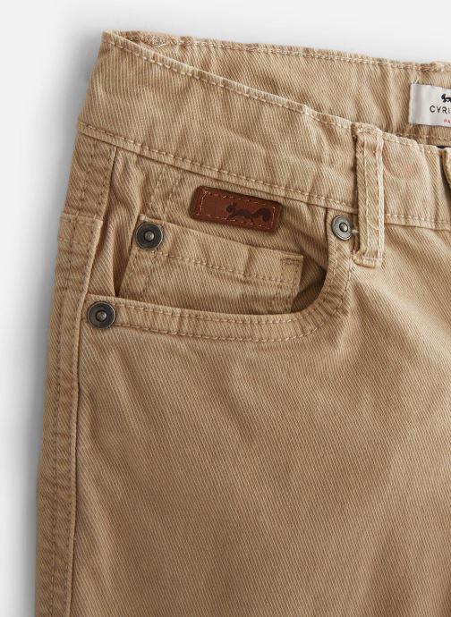 Vêtements Cyrillus Pantalon droit Gusgus Beige vue portées chaussures