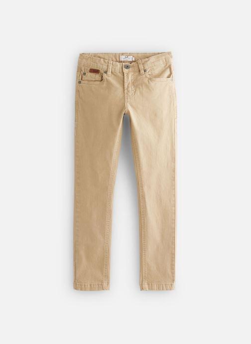 Vêtements Cyrillus Pantalon droit Gusgus Beige vue détail/paire