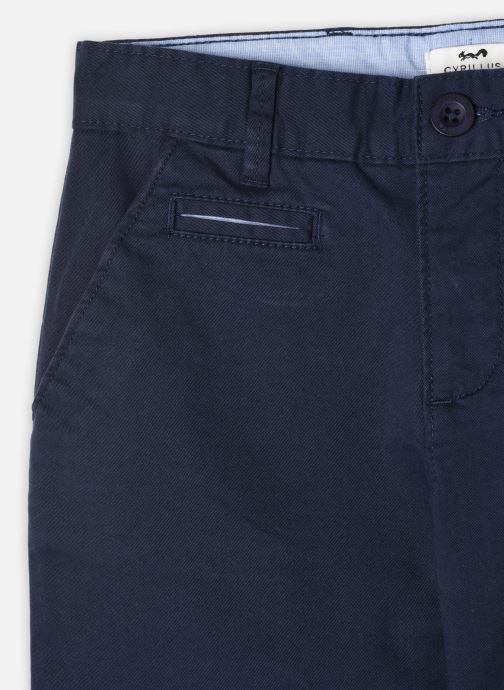 Vêtements Cyrillus Pantalon Casual Gilbert Bleu vue portées chaussures