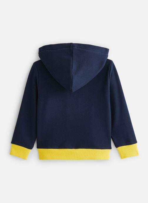 Vêtements Cyrillus Sweatshirt hoodie Guillem Bleu vue bas / vue portée sac