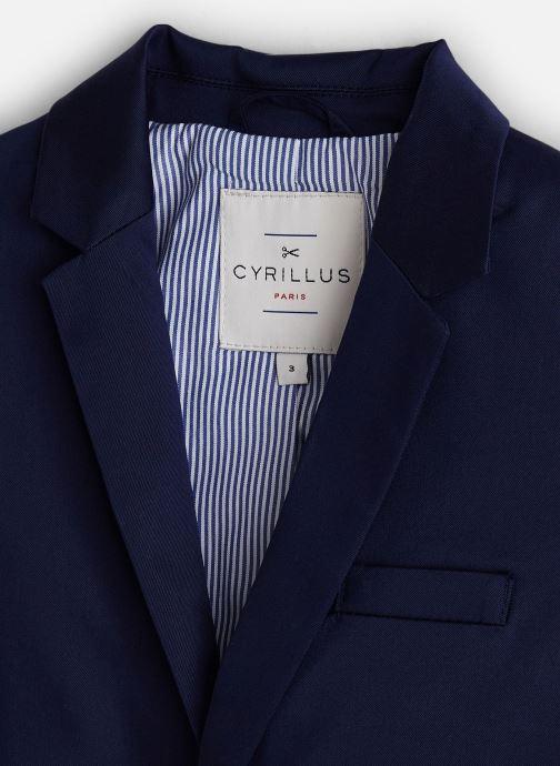 Vêtements Cyrillus Veste blazer Gaspard Bleu vue portées chaussures