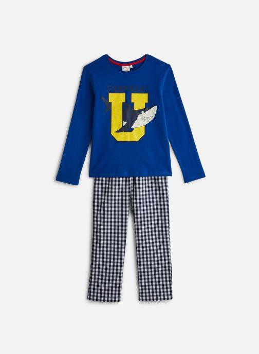 Vêtements Cyrillus Pyjama Graham Bleu vue détail/paire