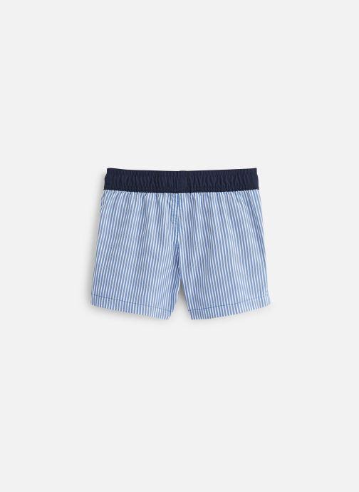 Vêtements Cyrillus Maillot de bain Guillaume Bleu vue bas / vue portée sac