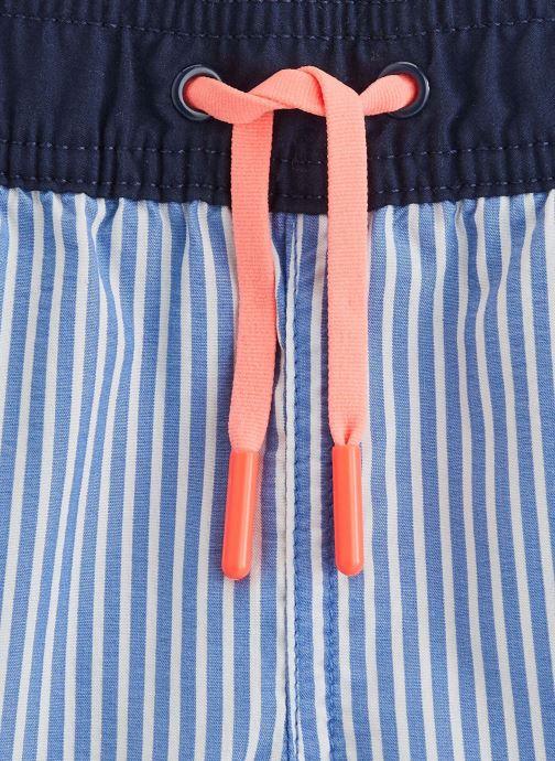 Vêtements Cyrillus Maillot de bain Guillaume Bleu vue portées chaussures