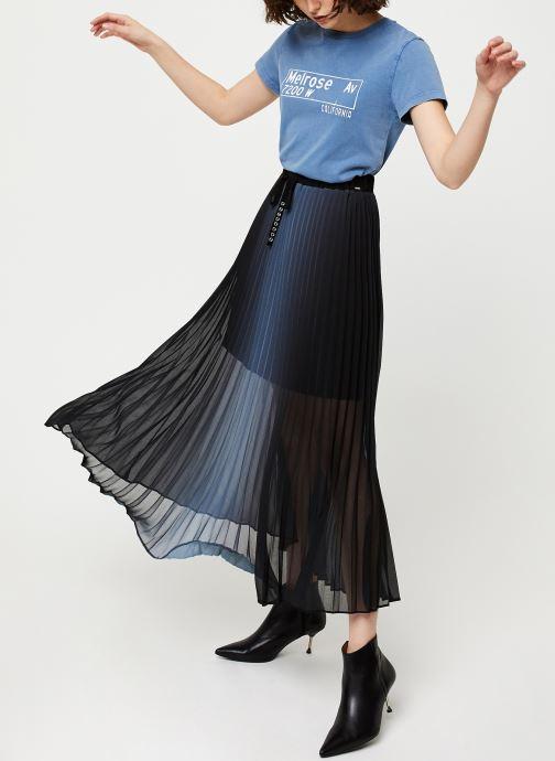 Vêtements IKKS Women Tee-Shirt BQ10065 Bleu vue bas / vue portée sac