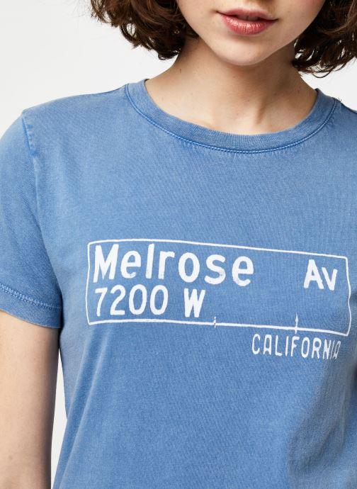 Vêtements IKKS Women Tee-Shirt BQ10065 Bleu vue face