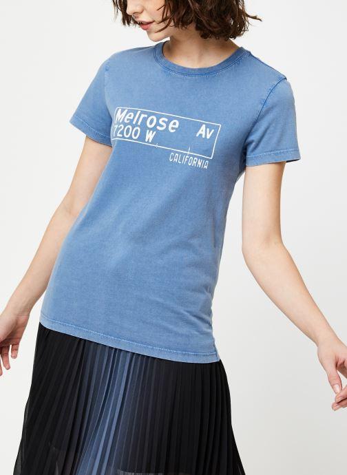 Vêtements IKKS Women Tee-Shirt BQ10065 Bleu vue droite
