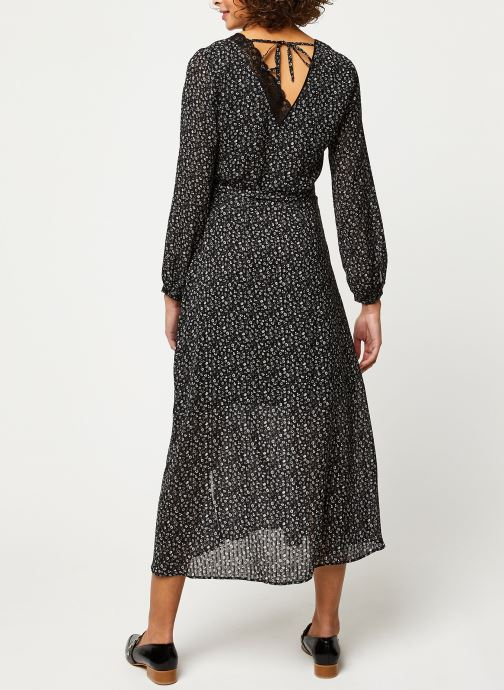 Vêtements IKKS Women Robe BQ30085 Noir vue portées chaussures