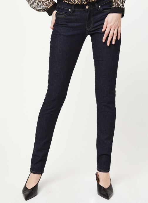 Kleding IKKS Women Pantalon BJ29385 Blauw detail