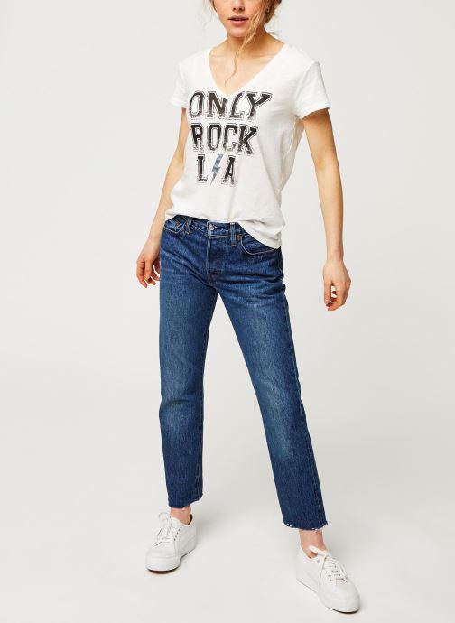 Kleding IKKS Women Tee-Shirt BQ10295 Wit onder