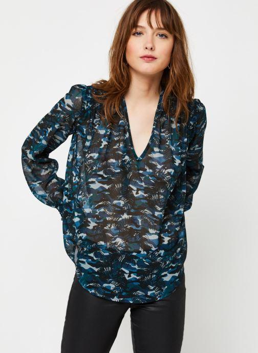 Vêtements IKKS Women Chemise BQ13085 Noir vue droite
