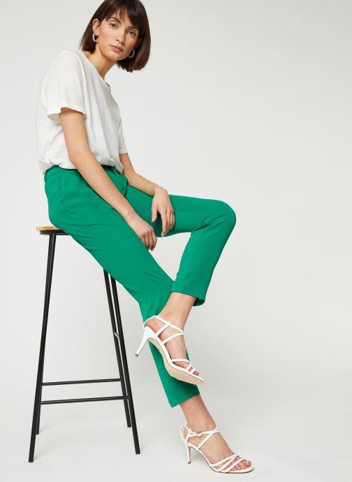 Kleding IKKS Women Pantalon BQ22195 Groen onder