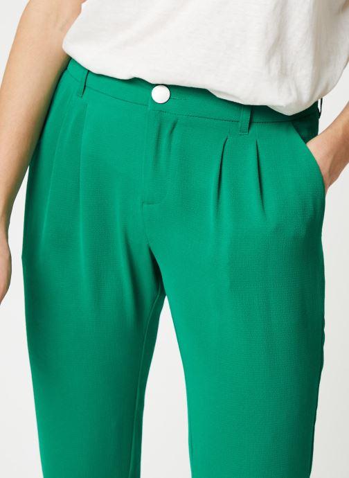 Kleding IKKS Women Pantalon BQ22195 Groen voorkant