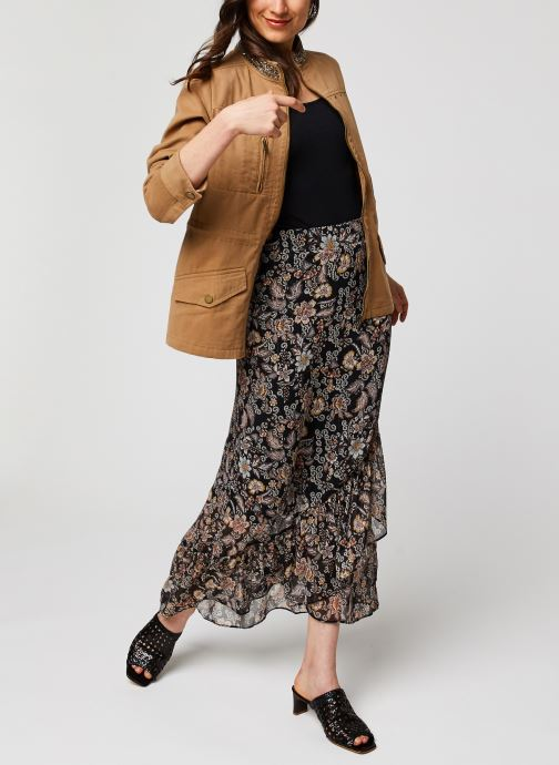Vêtements IKKS Women Jupe BQ27135 Noir vue bas / vue portée sac