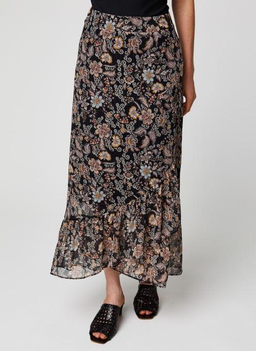 Vêtements IKKS Women Jupe BQ27135 Noir vue détail/paire