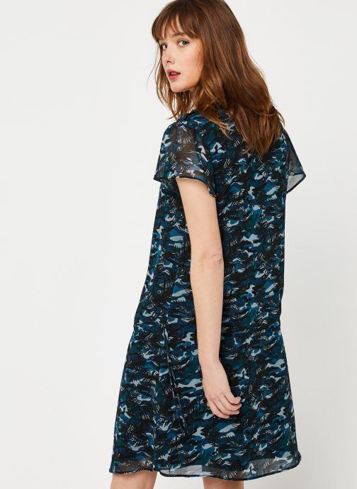 Kleding IKKS Women Robe BQ30265 Blauw model