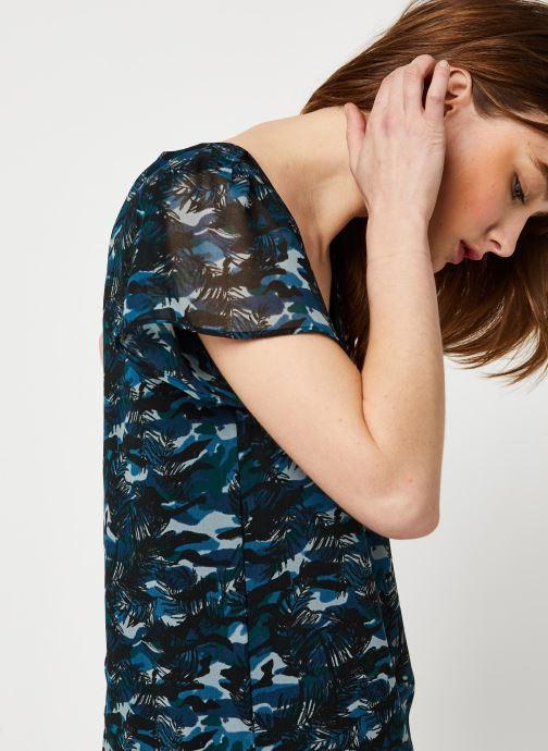 Kleding IKKS Women Robe BQ30265 Blauw voorkant