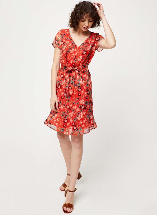 Vêtements IKKS Women Robe BQ30275 Rouge vue bas / vue portée sac