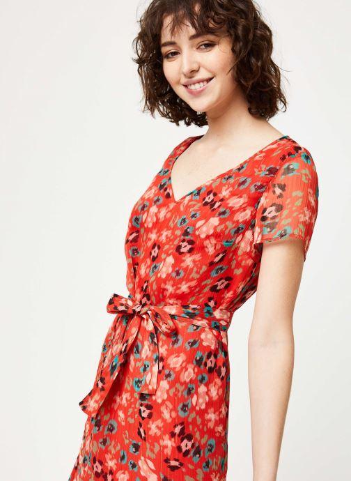Vêtements IKKS Women Robe BQ30275 Rouge vue face