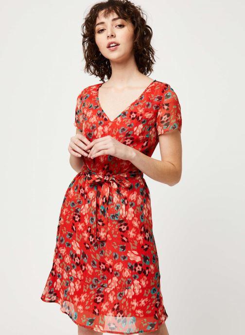 Vêtements IKKS Women Robe BQ30275 Rouge vue droite