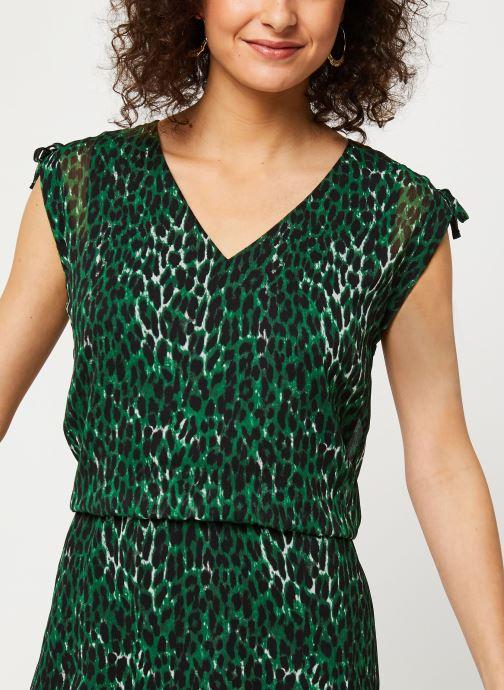 Vêtements IKKS Women Robe BQ30405 Vert vue face