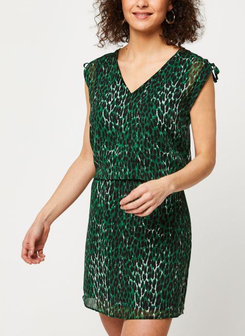 Vêtements IKKS Women Robe BQ30405 Vert vue droite