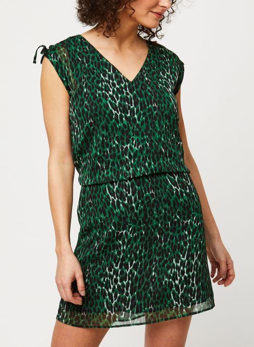 Vêtements IKKS Women Robe BQ30405 Vert vue détail/paire