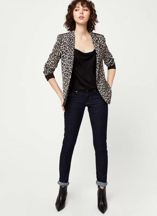 Vêtements IKKS Women Veste BQ40105 Noir vue bas / vue portée sac