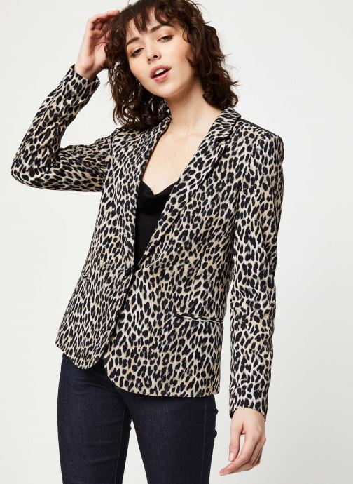 Vêtements IKKS Women Veste BQ40105 Noir vue détail/paire