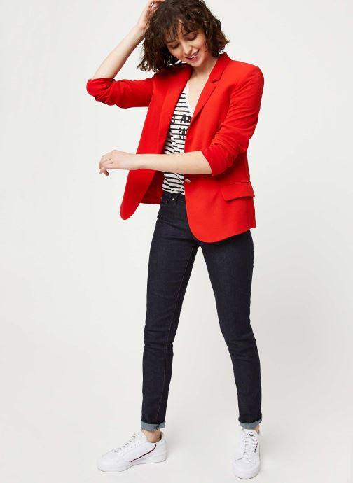 Vêtements IKKS Women Veste BQ40195 Rouge vue bas / vue portée sac