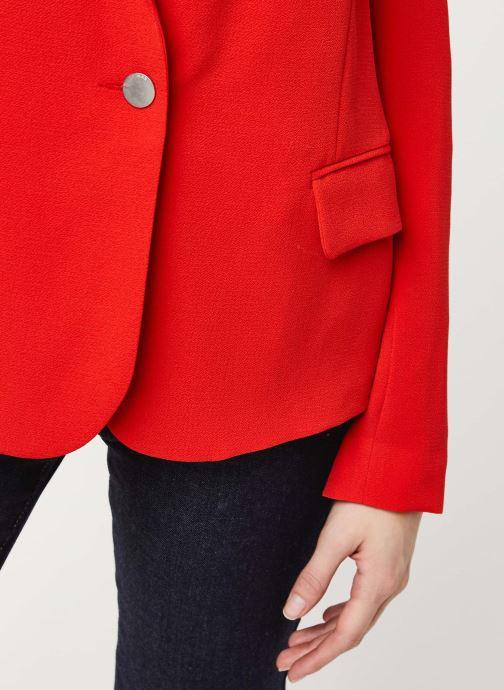 Vêtements IKKS Women Veste BQ40195 Rouge vue face