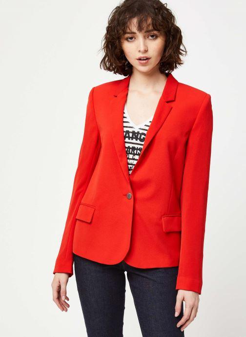 Vêtements IKKS Women Veste BQ40195 Rouge vue droite