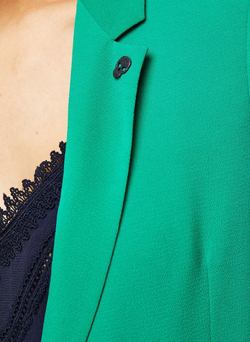Vêtements IKKS Women Veste BQ40195 Vert vue face