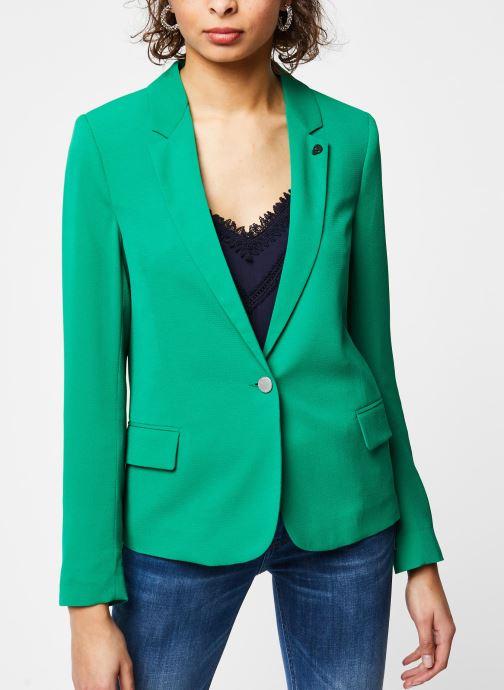 Vêtements IKKS Women Veste BQ40195 Vert vue droite