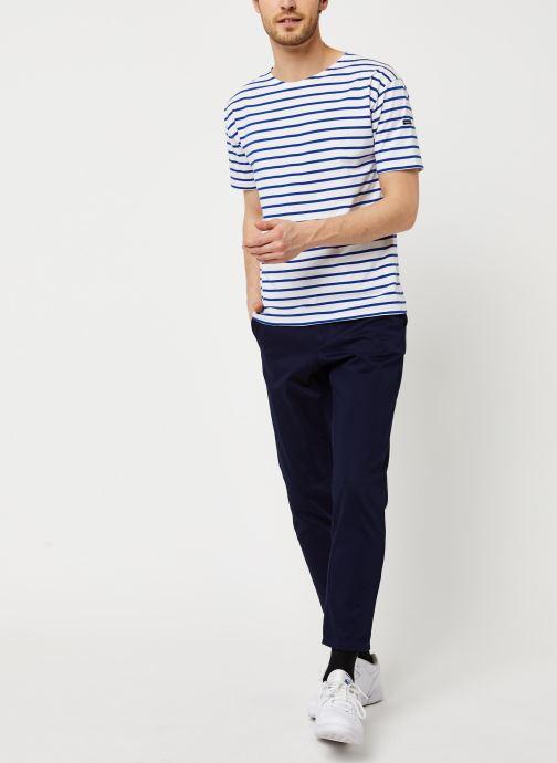 Armor Lux T-shirt - Marinière Théviec (Blanc) - Vêtements (421997)