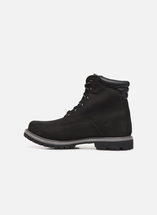 Bottines et boots Timberland Waterville 6in Basic Noir vue face