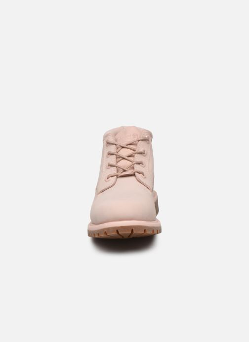 Bottines et boots Timberland Nellie Chukka Double WP Boot Rose vue portées chaussures